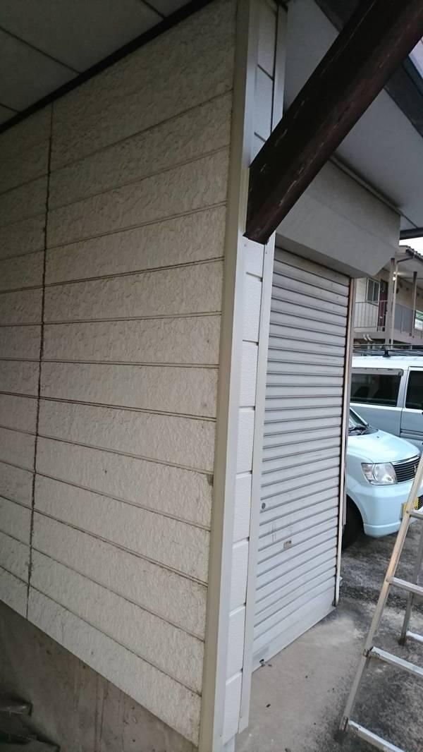 上越市N様/車庫の外壁補修