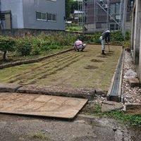 上越市K様/裏庭の外構工事のサムネイル
